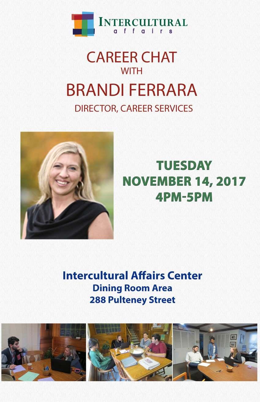 Career Chat Ferrara November 2017