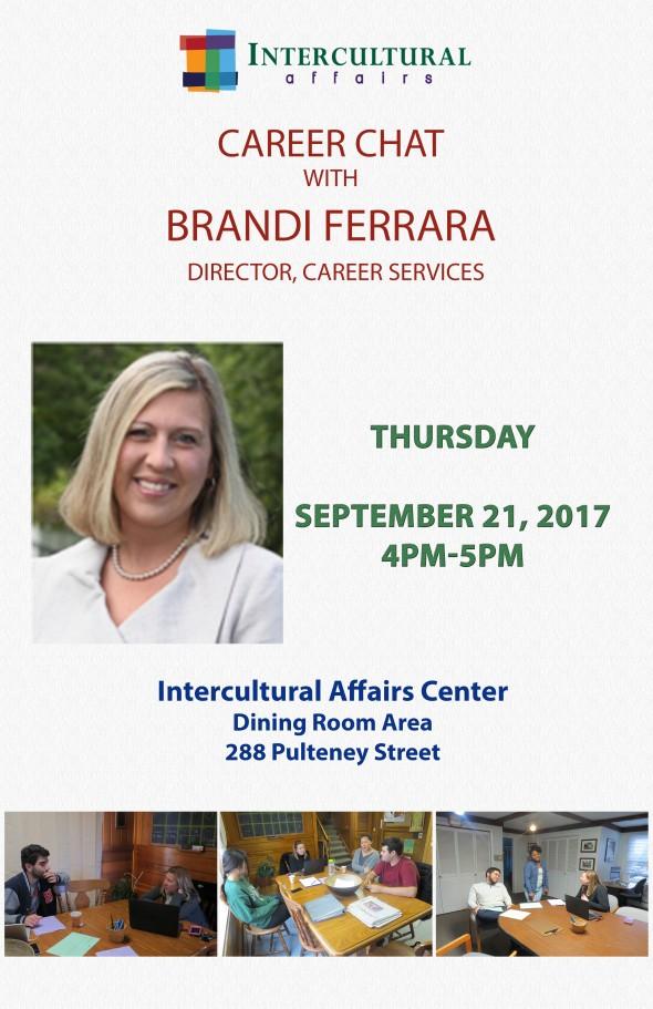 Career Chat Ferrara September 2017