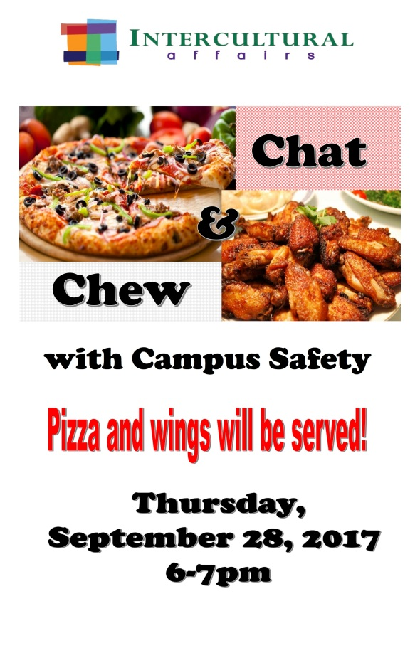 ChatandChewwithCampusSafetyF2017