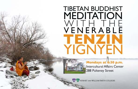 Meditation With Tenzin PosterNo Start DateS2013