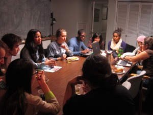 Cultural Global Awareness Social Justice Club Presidents Meeting F2012