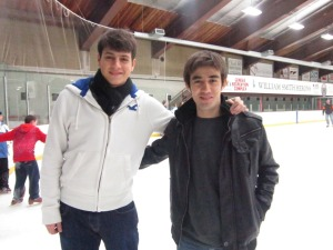 Sharaf and Rashed Ice Skating Winter 2013