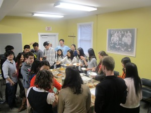International Student Dinner April 2013