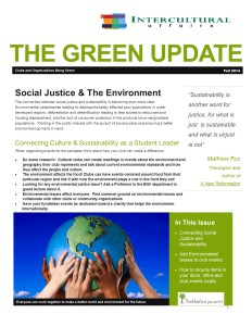 IC Green Newsletter F2014