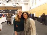 Joy Gitter WS'15 & Professor Alejandra Molina