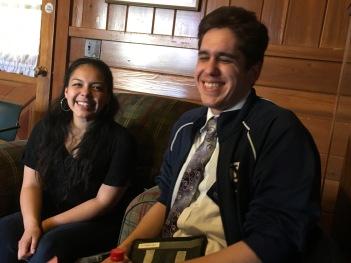 Alejandra Castillo WS'17 and guest Rubén Arteaga
