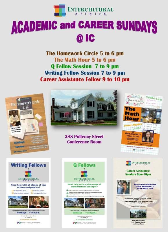 Academic and Career Sundays @IC S2018