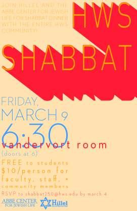 HWS Shabbat S2018